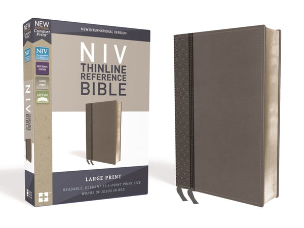 NIV Thinline Reference Bible Large Print