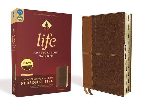 NIV Life Application Study Bible, Third Edition, Personal Size