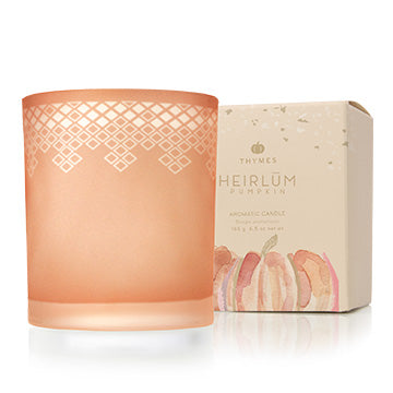 Thymes | Heirlum Pumpkin Boxed Candle