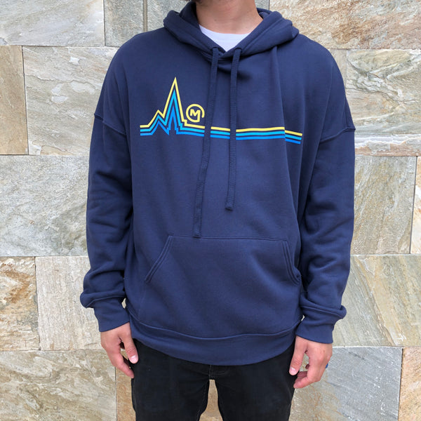Mariners | Navy Hooded Sweatshirt