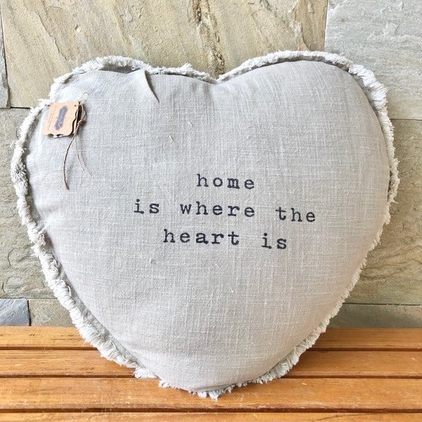 Pillow | Home Is Where The Heart Is
