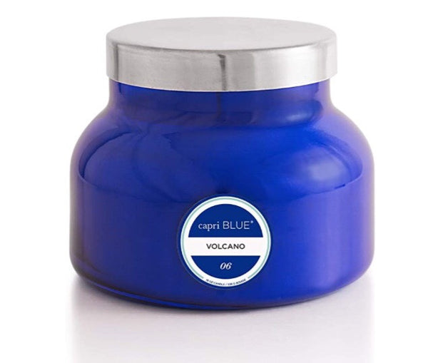 Volcano Blue Signature Jar Candle