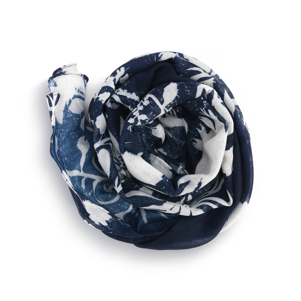 Scarf | Navy Floral