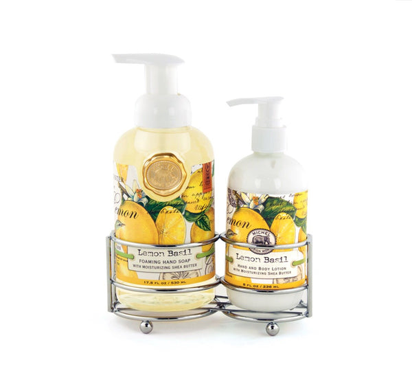 Lemon Basil Hand Care Caddy