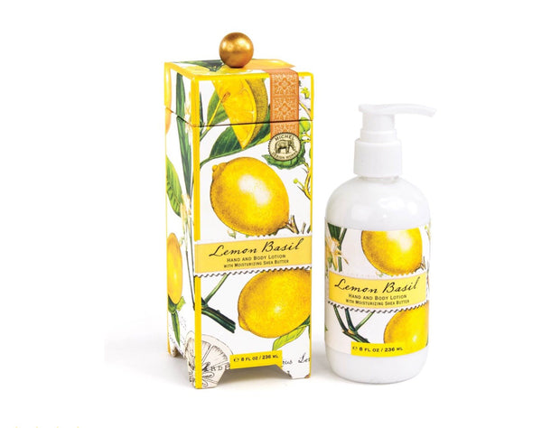 Michel | Lemon Basil Hand and Body Lotion