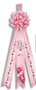Announcement Ribbon - Pink or Blue