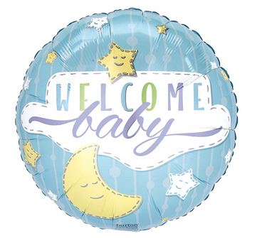 Balloon - Welcome Baby Boy