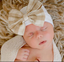 Load image into Gallery viewer, Baby Girl Newborn Nursery Beanies