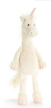 Load image into Gallery viewer, Dainty Unicorn Stuffed Animal, 19 inches