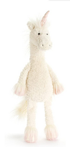 Dainty Unicorn Stuffed Animal, 19 inches