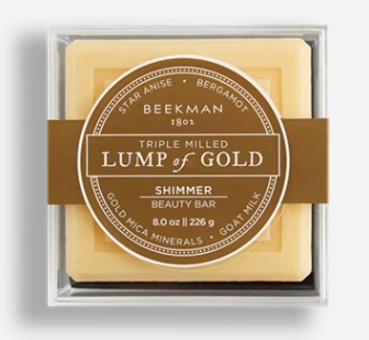 LUMP OF GOLD GOAT MILK SOAP 8 oz