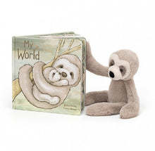 Load image into Gallery viewer, Bailey Sloth and My World Book  (Items sold separately)