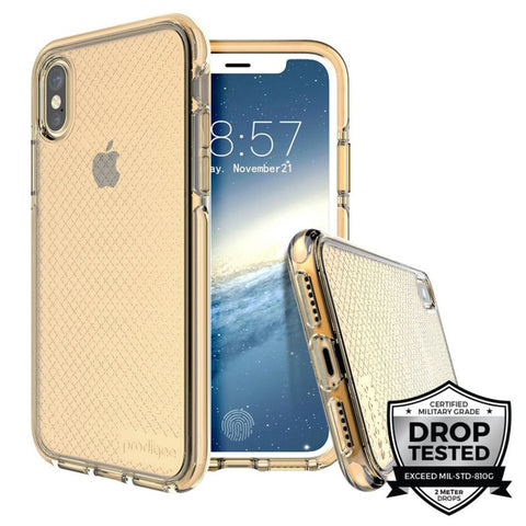 Prodigee - Case Safetee para iPhone X (Gold)