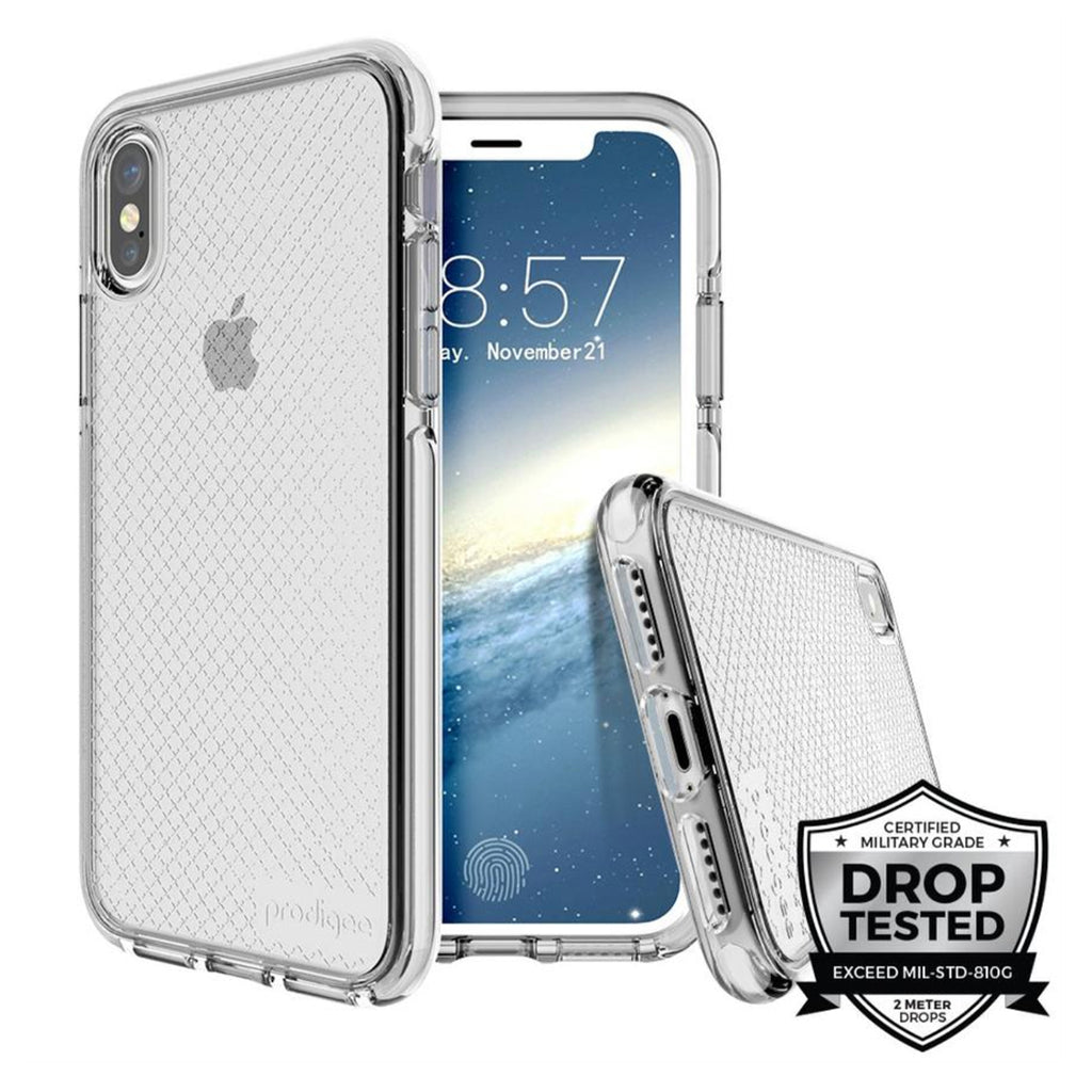 Prodigee - Case Safetee para iPhone X (Silver)