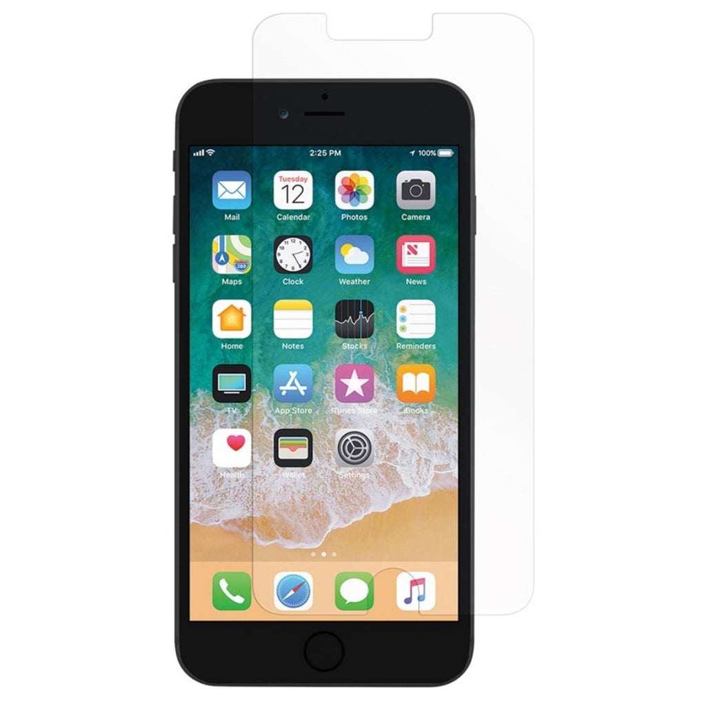 Incipio - PLEX PLUS SHIELD Protector de Pantalla de Vidrio Templado para iPhone 7/8