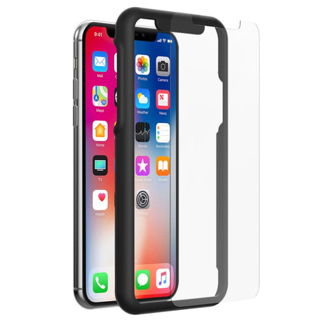 Incipio - PLEX PLUS SHIELD Protector de Pantalla de Vidrio para iPhone X