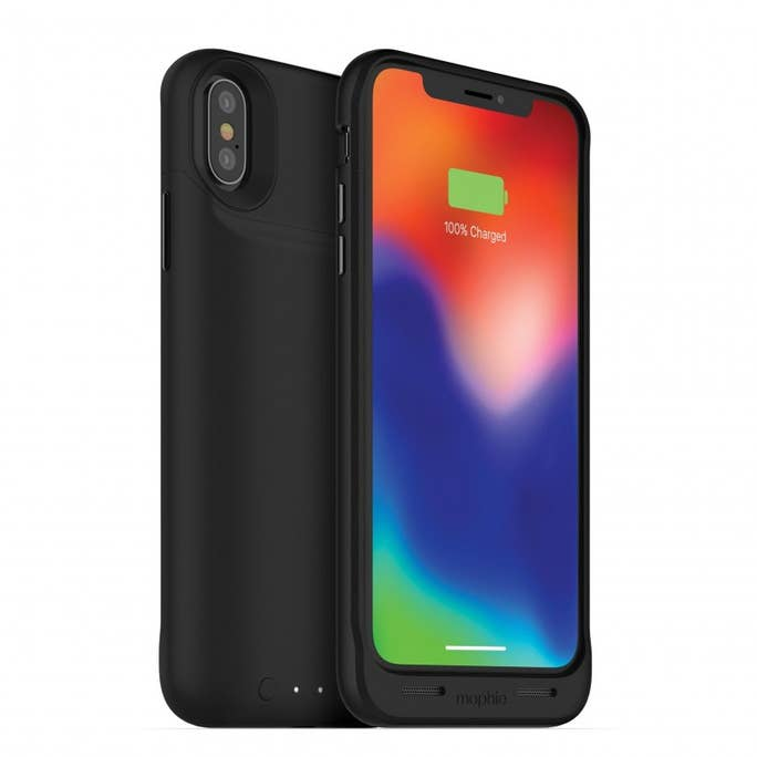 Mophie Juice Pack Air  - Case con Cargador Inalámbrico para iPhone X