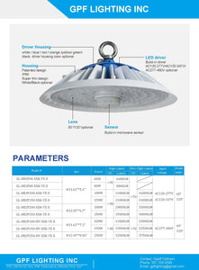 The SMART LED High Bay operates on any 100-347V power supply, has a IP66 rating, Phenomenal Lumen output and can save up to 50% more on electricity compared t a regular high bay.