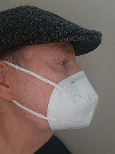 KN95 FDA Face Mask is a 5 layered designed to allow regular breathing and not feeling Claustrophobic