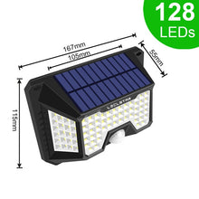 Load image into Gallery viewer, Solar LED Wall Pack Security Lamp with PIR Motion Sensor