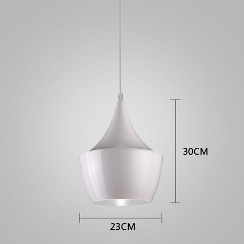 Simple Creative Musical Instrument Pendant Lamp Not Dimmable