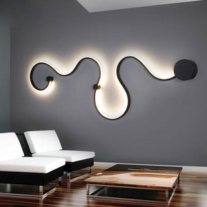 Postmodern Simple LED Wall Lamp