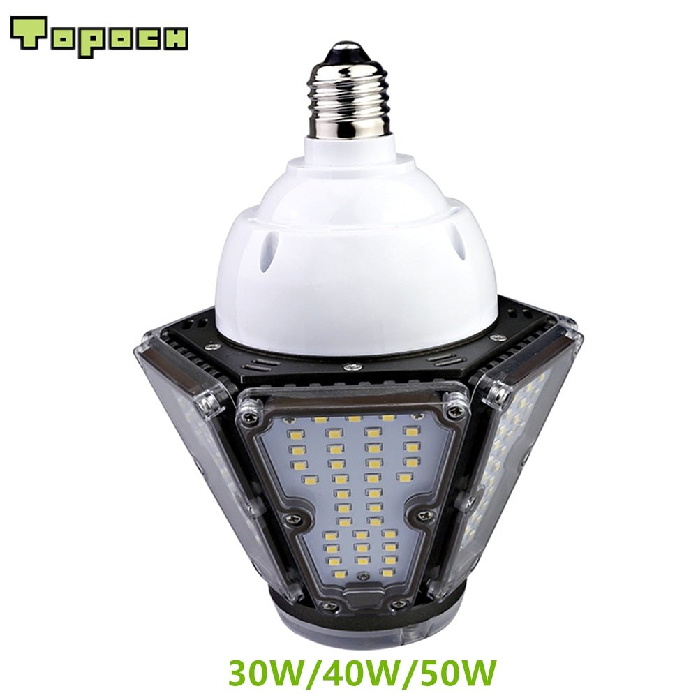 Exterior UL & CE LED bulb in 30W, 40W & 50W for Post Top Courtyard Fixtures