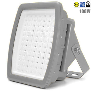 ATEX UL IECEx explosion proof LED high bay light 100w explosion proof light AC100V-277V UL DLC LED explosion-proof light