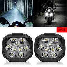 Load image into Gallery viewer, New 2Pcs Motorcycle LED Headlight Lamp Bulbs  LED Electric Bicycle Bike Ultra Bright Headlight Vehicle Daytime Running Lights