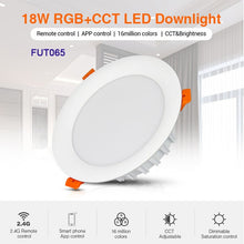 Load image into Gallery viewer, MiBOXER 6W/9W/12W/15W/18W RGB+CCT LED Downlight AC110V 220V Dimmable  FUT061/FUT063/FUT066/FUT068/FUT069