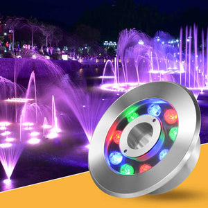 UL LED RGB Light  120VAC-12/24VDC Underwater RGB Decorative lamp for fountains and pools