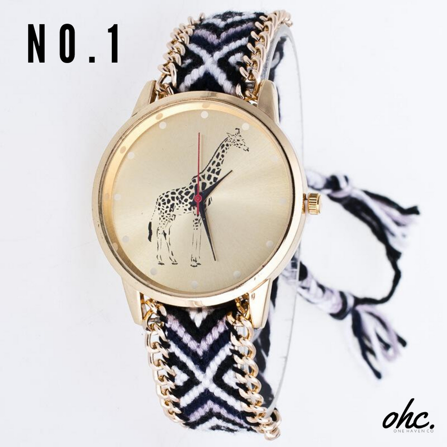 Giraffe Watch - OneHavenCo