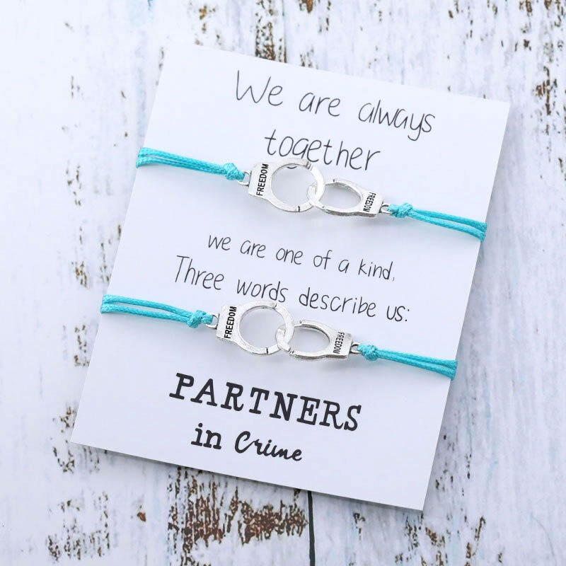 Partners In Crime Cuff Bracelet - OneHavenCo