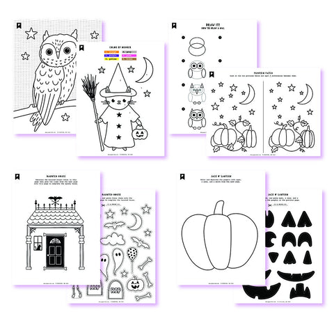 Trick Or Treat Kids Printables