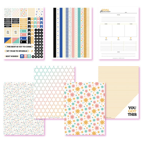 My Year To Sparkle Planner Printables