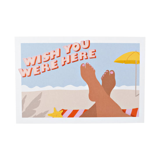 Wish You Were Here Postcard 20 Pack