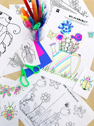 In The Garden Kids Printables