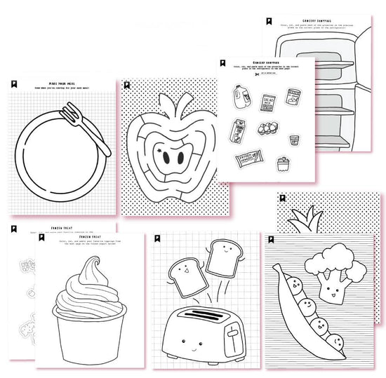 Meal Time YUM! Kids Printables
