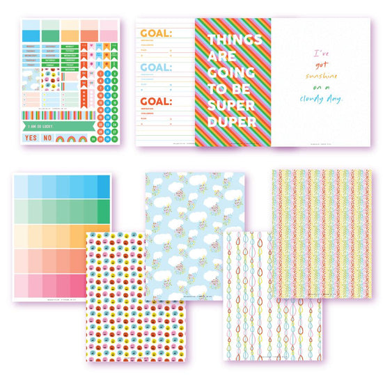 Rainbow Bright Planner Printables