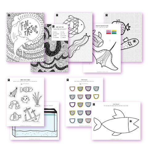 Under The Sea Kids Printables