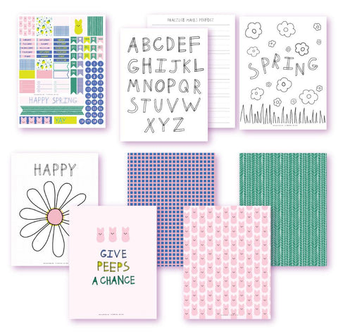 Spring Forward Planner Printables