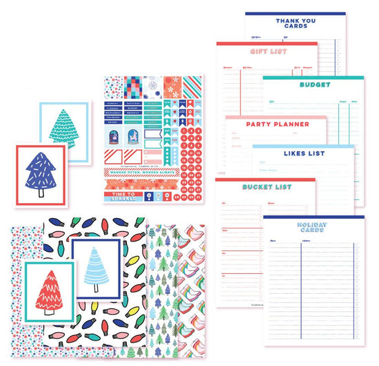 Jolly Holidays Planner Printables