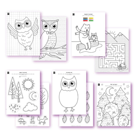 Feathered Friends Kids Printables