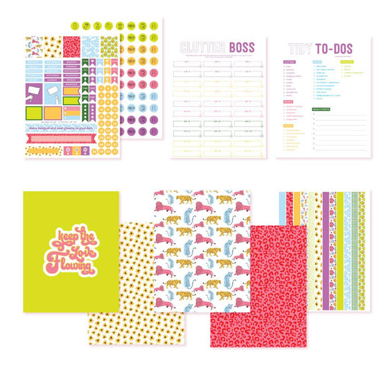 Spring Cleaning Planner Printables