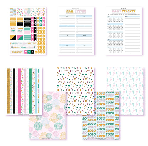 New Year, New You Planner Printables