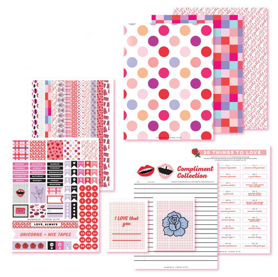 Let's Be Complimentary! Planner Printables