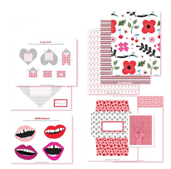 With Love & Kisses Pro Printables