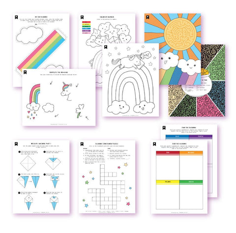 The Colors Of My World Kids Printables