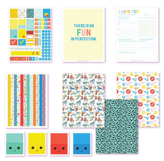 I Love Fun Planner Printables