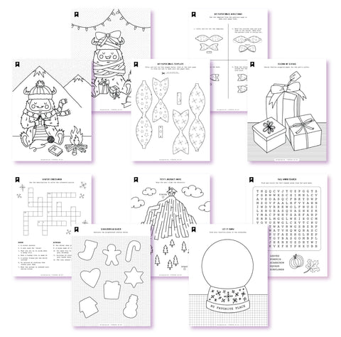 Are You Yeti? Kids Printables